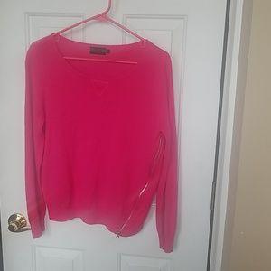 Forenza womens side zip sweater